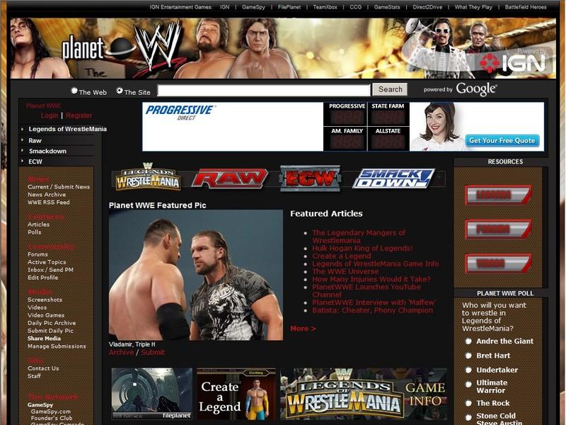 Planet WWE - News, Screenshots, Previews, Reviews, Guides