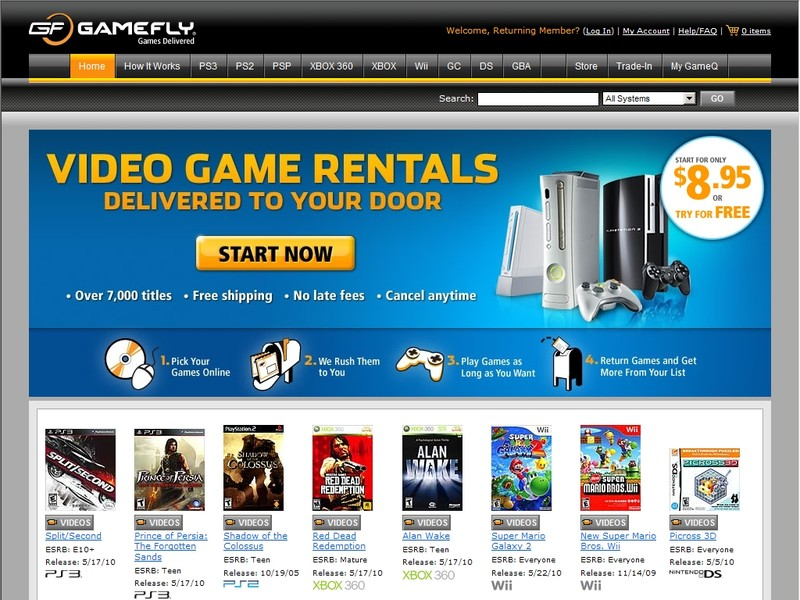 Video Game Webs - Find video game websites for your favorite video ...
